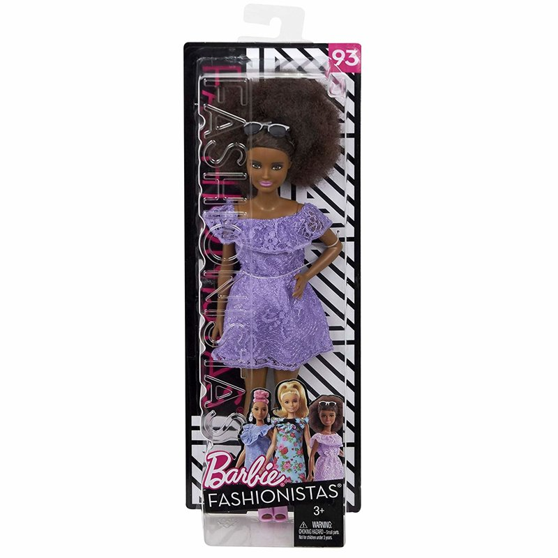 Poupée mannequin - Barbie Fashionista Purple